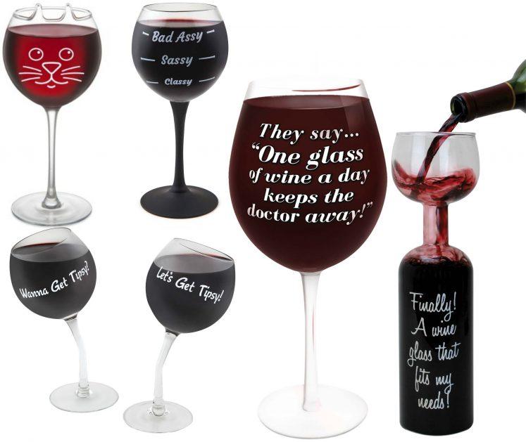 cadou pahar de vin