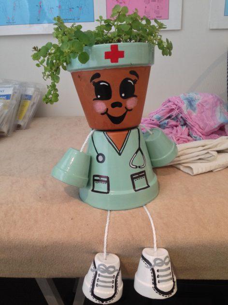 ghiveci cadou pentru doctori